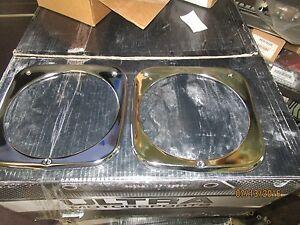 1964 1965 1966 CHEVROLET  PICKUP TRUCK c10 c20 c30 chrome headlight bezels new