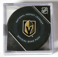 Las Vegas Golden Knights 2019-20 Official Game Puck NHL Hockey