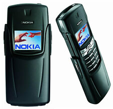 Nokia Titanium 8910i  - Black color Retro Cellular Phone (Factory Unlock!)