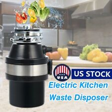 Electric Kitchen 1/2HP Garbage Disposer Food Waste Garbage Sink Disposal 220V