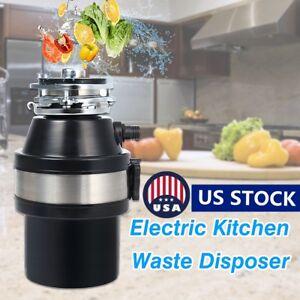 Electric Kitchen 1/2HP Garbage Disposer Food Waste Garbage Sink Disposal 220V