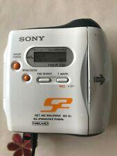 Sony Mz-S1 S2 Sports Net Md MiniDisc Recorder