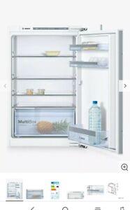 Bosch KIR21VF30G integrated column fridge. Larger capacity.