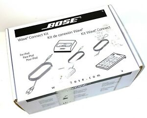 New NIOB Complete BOSE Wave Connect Kit For iPod, 315527-0010 FREE SHIPPING
