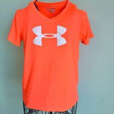 Under Armour Juniors Youth Orange Workout Athletic Tee Size M