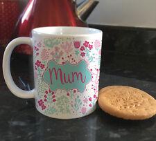 MAMMA Shabby Chic Floreale le madri giorno CERAMICA TAZZE TAZZA da caffè Tazza da Té