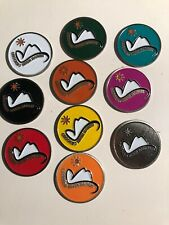 10 Different Crooked River Ranch golf ball markers