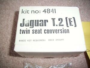 Maintrack 1:48 Jaguar T.2 (E) Twin Seat Resin Conversion Kit 48:11 - Unused