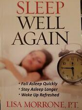 Sleep Well Again Paperback Lisa Morrone 2012