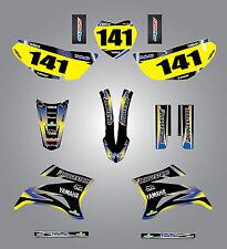 Yamaha TTR 125 / 2008 - 2015 sticker kit SUNRISE style decals Fully Custom