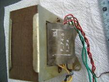 1 TRANSFO ALIM RADIO STEREO EURELEC : ELECTRONIQUE  AMPLI TUBE LAMPE VINTAGE