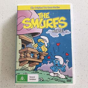 The Smurfs Box Set 1 | Original Cartoon Series DVD | Vol 1 2 & 3 (17 eps)