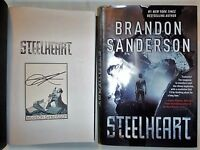 ***SIGNED 1st Print/ED** The Reckoners: Steelheart by Brandon Sanderson hx (NEW)