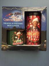 National Lampoon's Christmas Vacation- Travel & Ceramic Mug 2-Pack - NIB