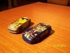 3 Majorette : Dodge Concept Car n° 238-225S + 2 Roadster (Viper) n° 213/14