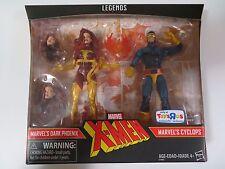 Marvel Legends 2017 X-Men Dark Phoenix and Cyclops Set # 4 MISB TRU Exclusive