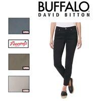 SALE Women's BUFFALO David Bitton DAILY Stretch Skinny Ankle Grazer VARIETY E11
