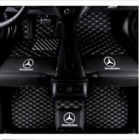 For Mercedes-Benz GL320 GL350 GL450 GL500 GL550 3-Row  Waterproof Car Floor Mats