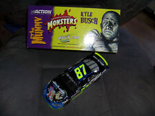 KYLE BUSCH #87 DITECH MONSTERS 2003 Monte Carlo Club Car 1 of 300 Rookie strips