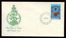 Norfolk Island 1968, Christmas FDC First Day Cover #C13903
