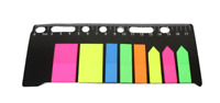 Stationery School Plastic Ruler Set With Sticky Note CM Ruler 17.5cm x 8cm 5815