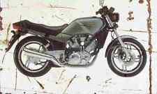 Yamaha XZ550 1982 Aged Vintage SIGN A4 Retro
