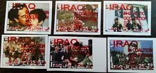 series  Saddam Hussein party leaders Iraq occupation coalition 2003  overprint