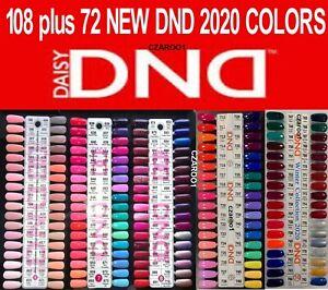 DND Daisy Soak Off Gel-Polish Duo .5oz LED/UV- U PICK  from PLATE 6, 7, 8, 9, 10