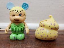 """DISNEY VINYLMATION 3"""" BAKERY SERIES TINKER BELL CUPCAKE PETER PAN FAIRY"""