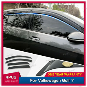 AUS Weather Shields Weathershields for Volkswagen Golf 7th Gen 2013+ MK7 MK7.5
