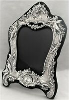 """SUPERB 12""""  Art Nouveau Style Frame - Picture Photo - English Sterling Silver"""