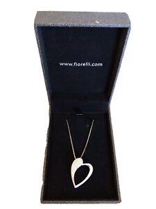 Fiorelli Silver Necklace With Heart Pendant 925