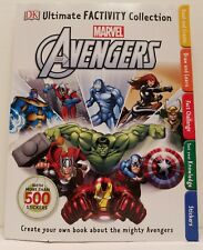 Ultimate Factivity Collection Marvel Avengers DK Paperback 500+stickers Complete