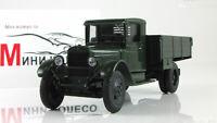Scale car 1:43, ZiS-5, side dark green 1930