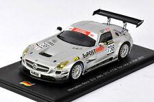 SPARK Mercedes-Benz SLS AMG GT3 #738 VLN 2010 B. Schneider - T. Jager SG006 1/43