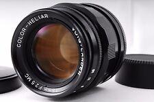 Near Mint!! Voigtlander Color-Heliar 75mm F2.5 MC Leica L-mount from Japan #429