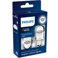 Philips X-tremeUltinon gen2 LED W21W 6000K Cool White LED Car Bulbs (Twin)