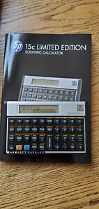 hp 15c Limited Edition calculator