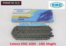 """Catena Rinforzata """"KMC"""" Passo 428 - 140 Maglie per HM CRE 50 Derapage dal 2001"""