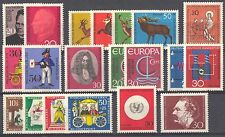 BUNDESPOST - 1966 complete year MNH