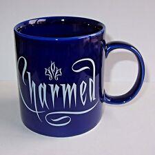 Rare Charmed Coffee Mug Cup  Halliwell Witch Sisters  2007 TV Show Trihorn Logo