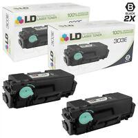 LD Reman For Samsung MLT-D303E 2PK Black Toner Cartridges for M4580FX