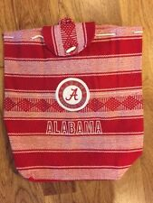 Alabama Crimson Tide Backpack Mexican handmade tote Adjustable tote New Red