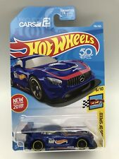 Hot wheels blue '16 mercedes-amg gt3 196/365 Legends Of Speed 6/10
