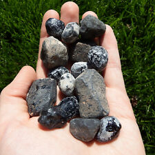 Volcanic glass Obsidian Crystal (1) Natural raw rough healing stone