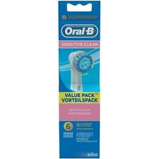 Oral-B Sensitive Aufsteckbürsten für elektrische Zahnbürsten, 6 er /
