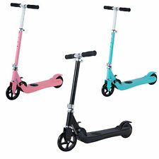 ElektroRoller Einstellbare Klappbar Kinder E-Scooter Elektroscooter Tretroller