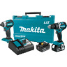 Makita XT269M 18V LXT® Lithium‑Ion Brushless Cordless 2‑Pc. Combo Kit (4.0Ah)