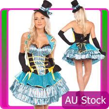Ladies Burlesque Showgirl Disco Girl Halloween Hens Party Fancy Dress Costume