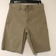 Gap Kids boys khaki shorts uniform cotton adjustable waist Size 12 regular